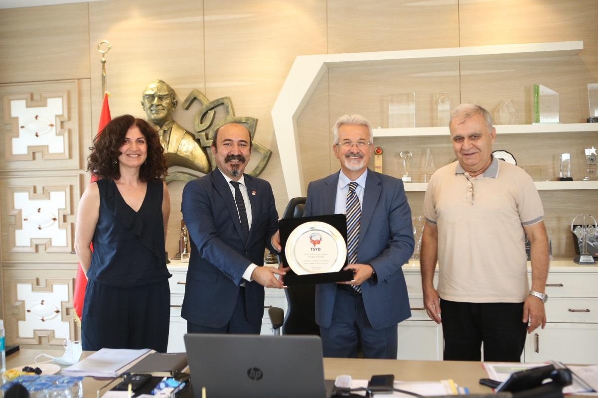 TSYD Bursa'dan Nilüfer Belediyesi'ne ziyaret