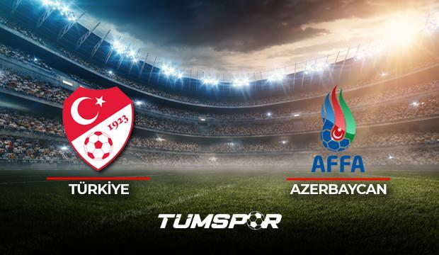 Türkiye Azerbaycan maçı ne zaman saat kaçta hangi kanalda? Türkiye A Milli Takım Aday Kadrosu!