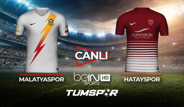 Yeni Malatyaspor Hatayspor maçı canlı izle! BeIN Sports Malatya Hatay maçı canlı skor takip!