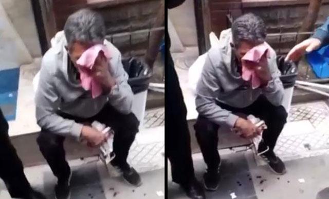 15 yaşındaki kızın arkadan fotoğrafını çekti, meydan dayağını yedi